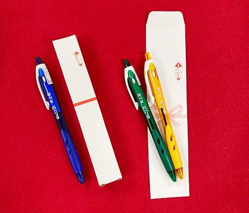 名入れボールペン のし箱のし袋付き